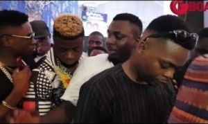 Video: Reminisce, CDQ, Lil Kesh, Olamide & Others Storms Pasuma